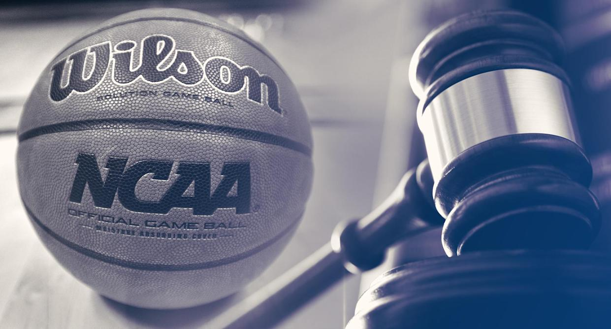 The second college hoops corruption trial could open a window to significant revelations. (Yahoo Sports illustration)