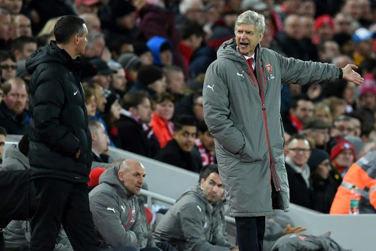Arsenal manager Arsene Wenger has endured a week from hell that started when Arsenal were thumped 3-1 at Liverpool followed by elimination from the Champions League
