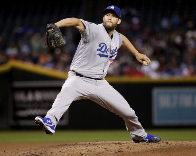 A three-time NL Cy Young Award winner, Clayton Kershaw is now back on the disabled list for the third time in as many seasons. (AP Photo)