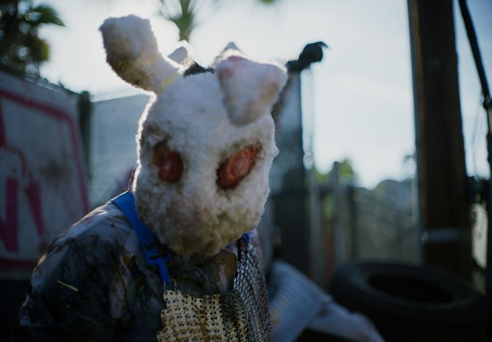 A Purger in The Forever Purge, directed by Everardo Valerio Gout.