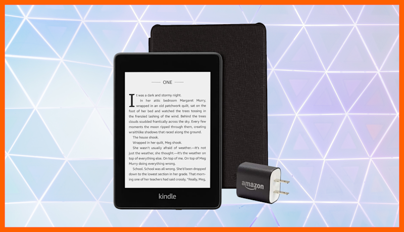 Kindle Paperwhite Essentials Bundle. (Photo: Amazon)