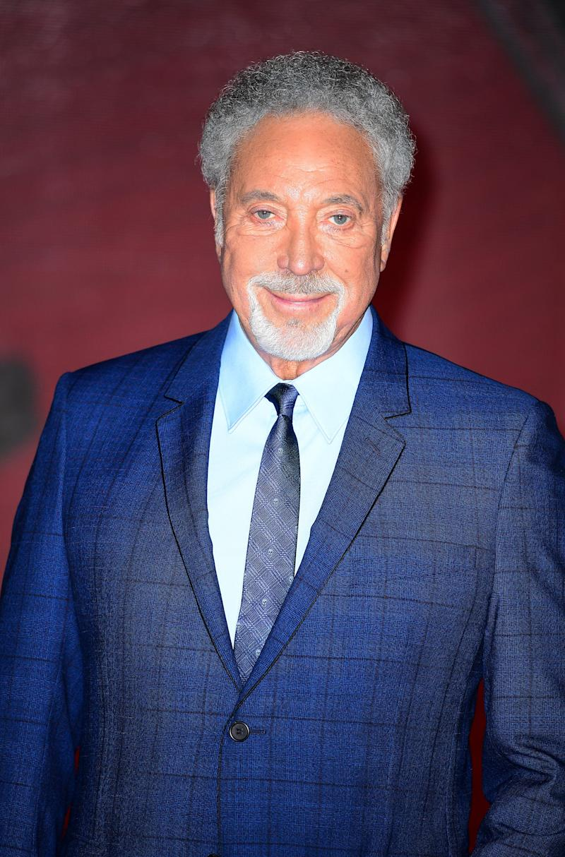 Sir Tom Jones said The Voice UK helped his recovery - PA Wire/PA Images