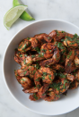 """<p>Chili lime is one of our favorite flavors for seafood. </p><p>Get the recipe from <a href=""""https://www.delish.com/cooking/recipe-ideas/a22535146/best-chili-lime-shrimp-recipe/"""" rel=""""nofollow noopener"""" target=""""_blank"""" data-ylk=""""slk:Delish"""" class=""""link rapid-noclick-resp"""">Delish</a>. </p>"""