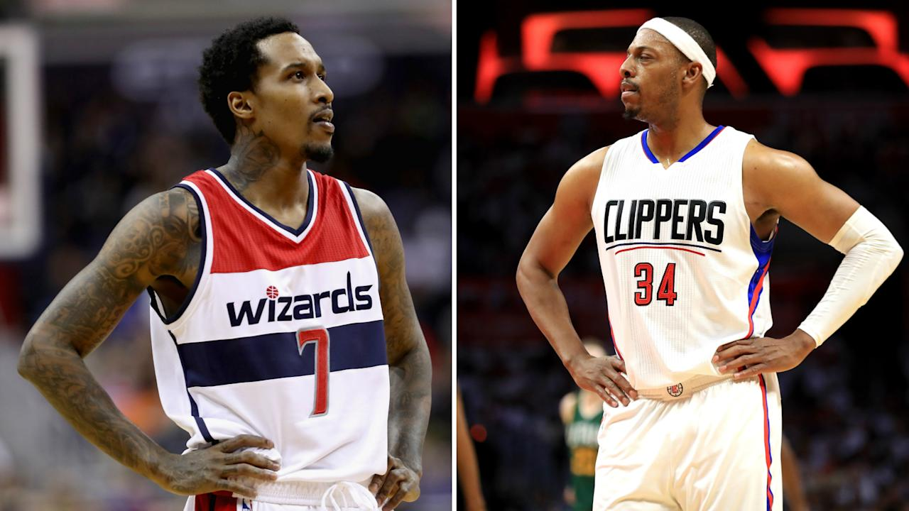 Brandon Jennings is headed to play for less than the NBA minimum in China, and Paul Pierce is thrilled.
