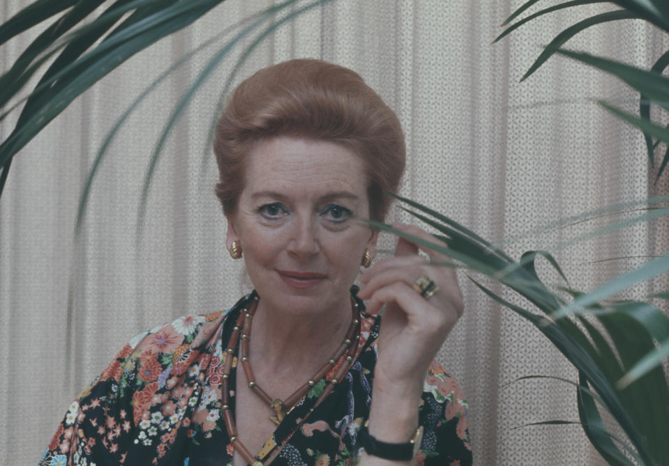 Scottish actress Deborah Kerr (1921 - 2007), circa 1980. (Photo by Keystone/Hulton Archive/Getty Images)
