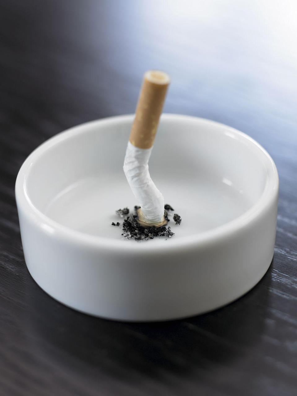 <p>Some indoor air pollutants can kill. Among the most dangerous is secondhand smoke. Thousands of children are hospitalized or sickened with respiratory tract infections each year, and smoke puts older adults with cardiovascular or lung illness at higher risk for health problems.</p><p>Since cigarettes are so harmful, never let anyone smoke inside your home. The Surgeon General states that there is no safe level of secondhand smoke. Ask smokers to take it outside.</p>