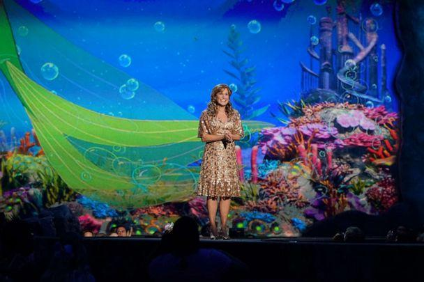 PHOTO: Jodi Benson performs during the spectacular, live musical event showcasing 'The Little Mermaid' on ABC. (Eric Mccandless/ABC)
