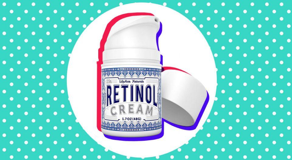 LilyAna Naturals Retinol Cream is an Amazon best-seller in the skin care category. (Photo: Amazon)