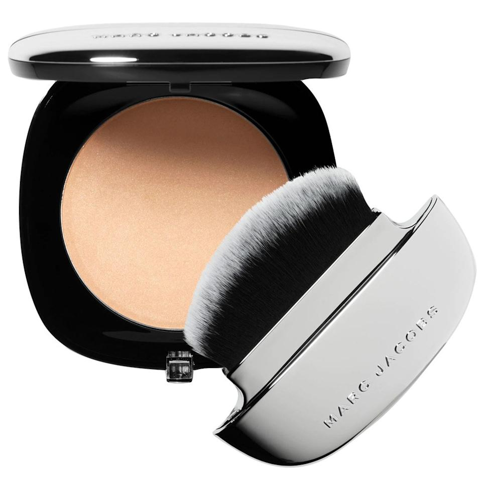 """<p>According to <a href=""""https://www.instagram.com/fionastiles/"""">Fiona Stiles</a>, the right finishing face powder is the ultimate key to locking down makeup and ensuring a camera-friendly finish. """"The last thing you want to think about on your wedding is touching up your makeup, and with a cream or liquid highlighter they can mix with the oils in your face and become too reflective,"""" she says. """"Using a very finely milled blurring powder gives you the glow you're looking for while remaining consistent through the dancing and revelry."""" Marc Jacobs Beauty Accomplice Blurring Powder ticks off all her pressed-powder requirements.</p> <p><strong>$49</strong> (<a href=""""https://www.sephora.com/product/accomplice-instant-blurring-beauty-powder-P444948?om_mmc=aff-linkshare-redirect-PPkX79/c*b0&c3ch=Linkshare&c3nid=PPkX79/c*b0&affid=PPkX79_c.b0-mJGaVoRrfDsAtc5b0b5OQw&ranEAID=PPkX79/c*b0&ranMID=2417&ranSiteID=PPkX79_c.b0-mJGaVoRrfDsAtc5b0b5OQw&ranLinkID=10-1&browserdefault=true"""" rel=""""nofollow"""">Shop Now</a>)</p>"""