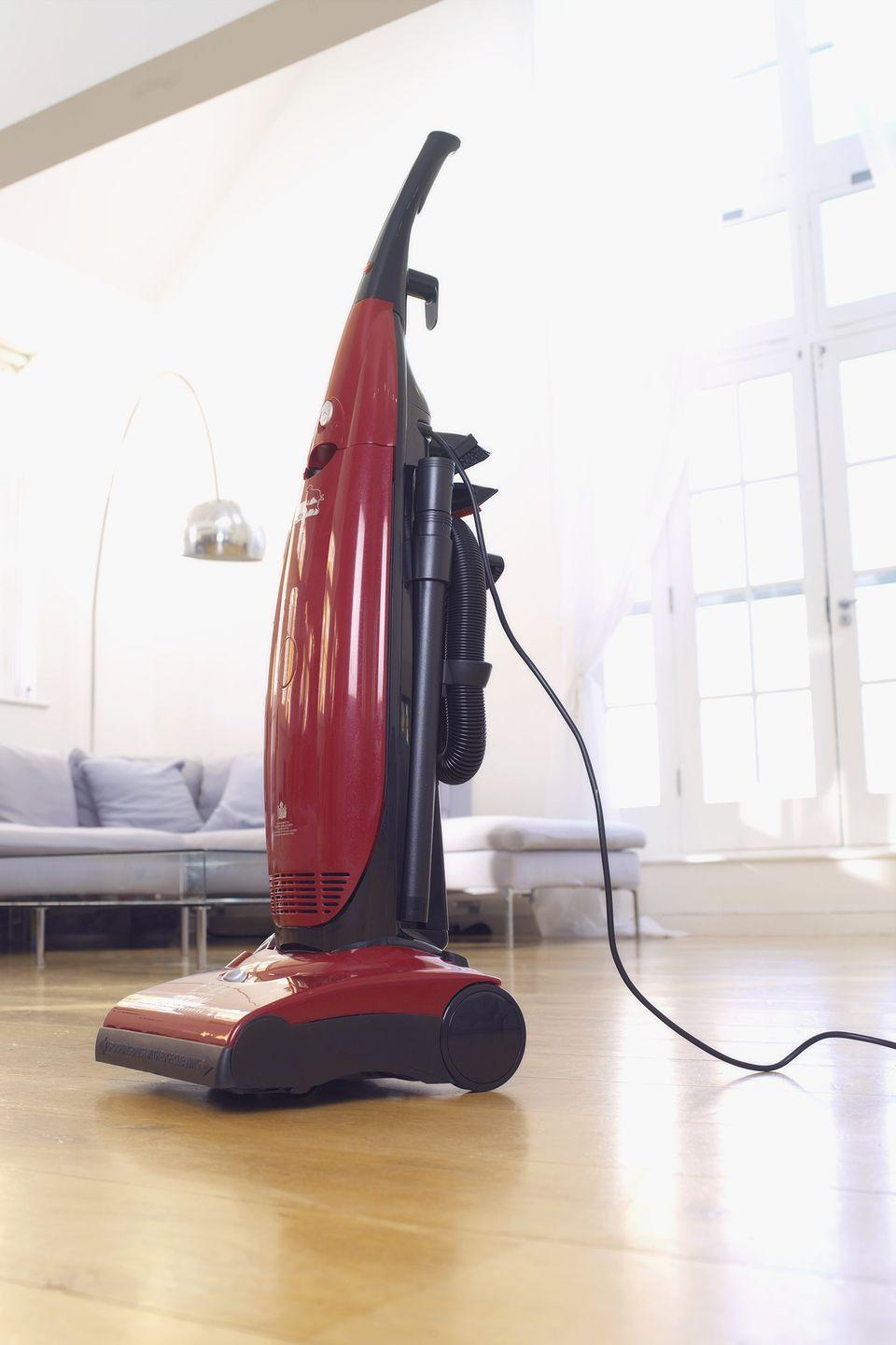 """<p>Gizmos like vacuum cleaners tend not to hold up for very long, according to <a href=""""https://www.consumerreports.org/vacuum-cleaners/how-long-do-vacuum-cleaners-last/"""" rel=""""nofollow noopener"""" target=""""_blank"""" data-ylk=""""slk:Consumer Reports"""" class=""""link rapid-noclick-resp"""">Consumer Reports</a>. So if possible, it's always best to buy new. And if you are going to pick one up from your local thrift store, you should always test it—and all other electric-powered products—before you purchase. </p>"""
