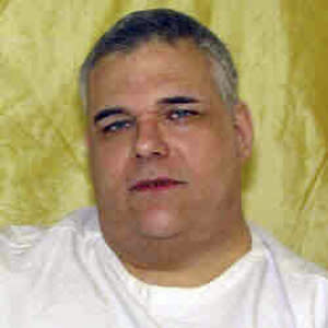 This undated photo provided by the Ohio Dept. of Rehabilitation and Corrections shows  death row inmate Ronald Post. Post, 53,  scheduled to executed Jan. 16, 2013, for the 1983 shooting death of a hotel desk clerk. A federal judge has rejected his request that his upcoming execution be delayed. At 480 pounds, Post said he is too heavy for the state's lethal injection process. (AP Photo/Ohio Dept. of Rehabilitation and Corrections)