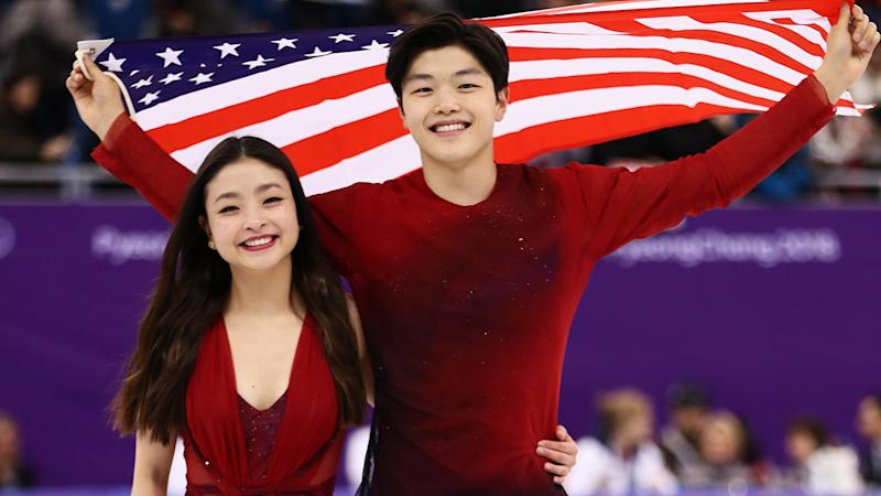 Maia and Alex Shibutani, pictured here at the 2018 PyeongChang Winter Olympics.