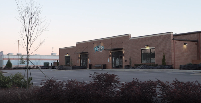 Cheer Extreme's gym in Raleigh, NC.