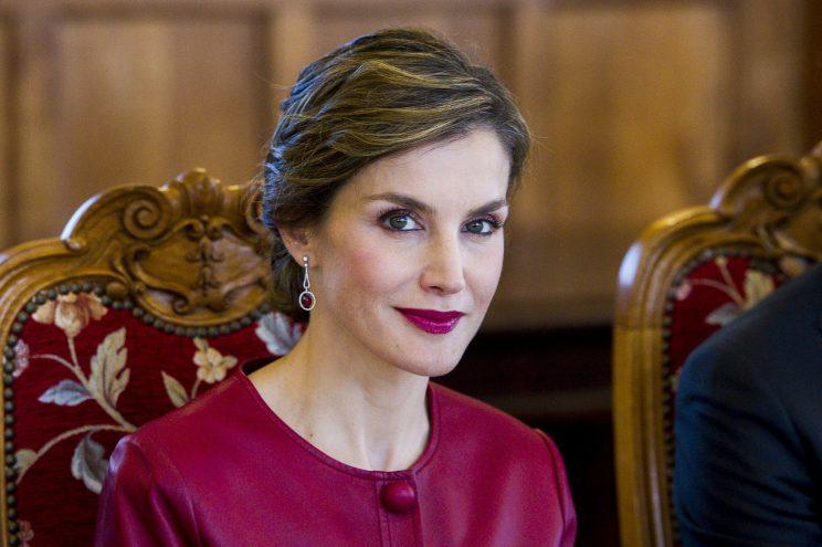 Queen Letizia of Spain rose to royalty from the middle class. (Photo: Getty)