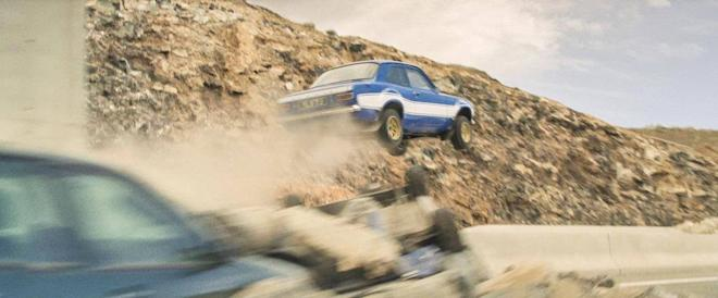 Action scene from Fast & Furious franchise
