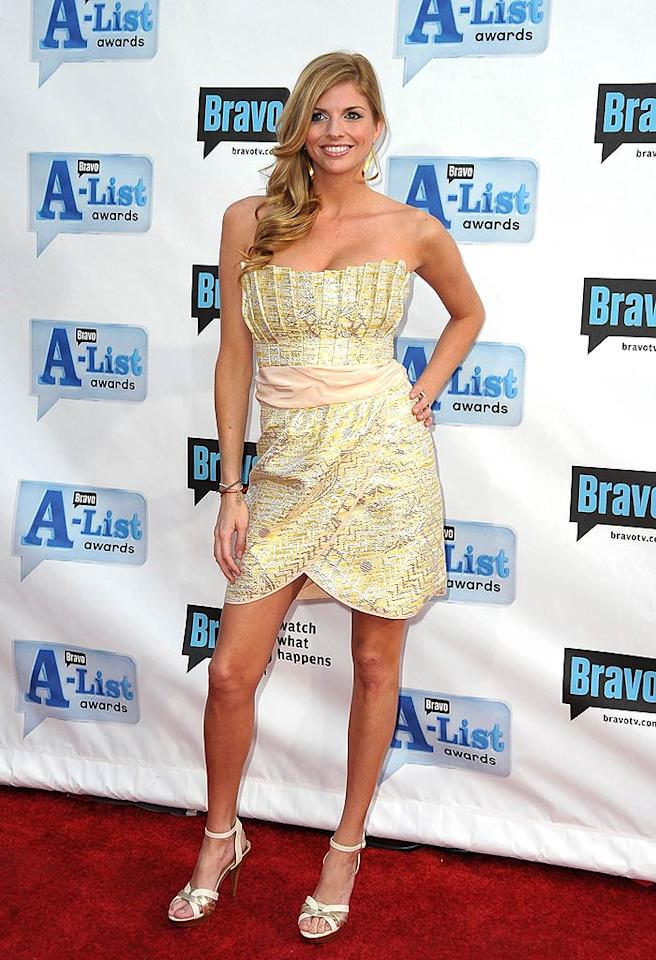 """Trishelle Cannatella looked surprisingly sophisticated in a sparkling strapless number. The small screen queen has starred in no less than nine reality shows! Jordan Strauss/<a href=""""http://www.wireimage.com"""" target=""""new"""">WireImage.com</a> - April 5, 2009"""