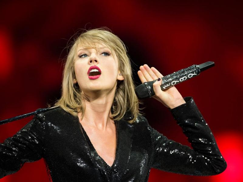 It's not the first time Taylor has been sued over lyrics to this track. Source: Getty
