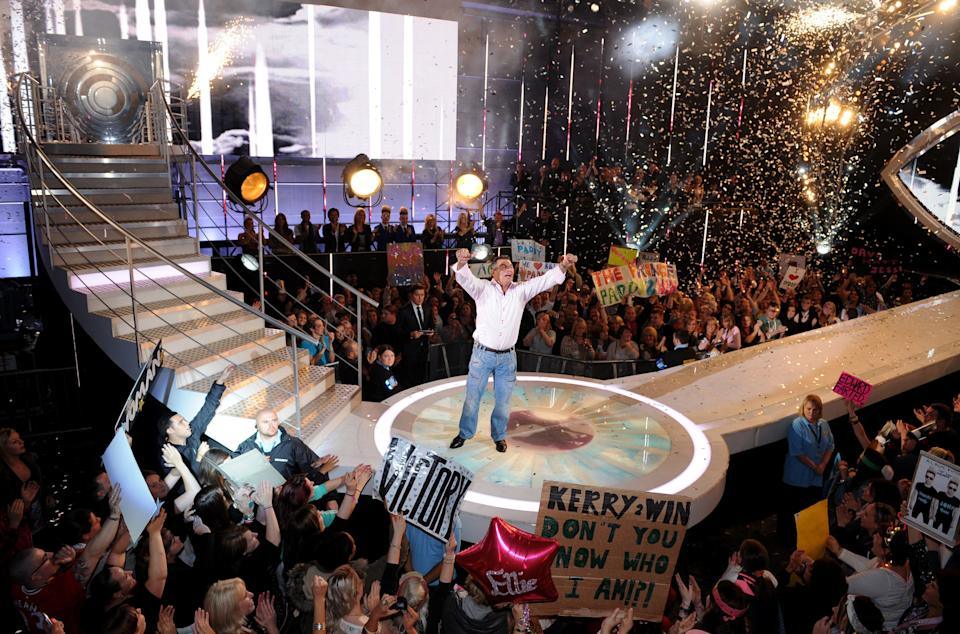 Paddy won Celebrity Big Brother in 2011 (Photo: Doug Peters/EMPICS Entertainment)