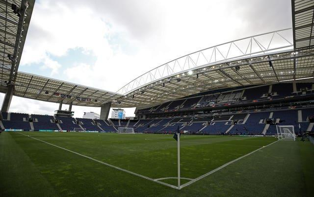 The match has been moved from Istanbul for Porto's Estadio do Dragao