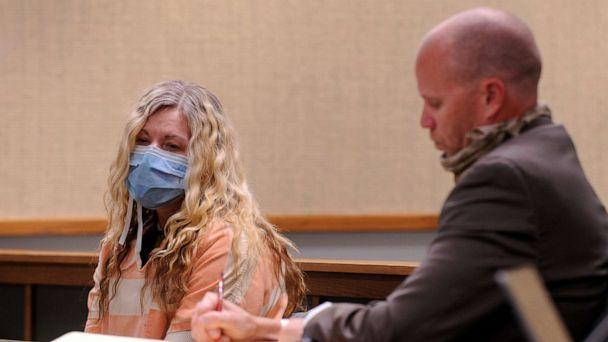 PHOTO: Lori Vallow finds out her bond has been denied by Judge Michelle Mallard during her second bond hearing at the Madison County Magistrate Court in Rexburg, Idaho, May 1, 2020. (John Roark/The Idaho Post-Register via AP, FILE)