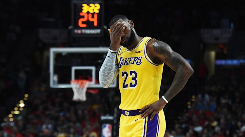 Three Things to Know  Will Lakers  lack of shooting spoil more than LeBron s  debut  0b547afcf
