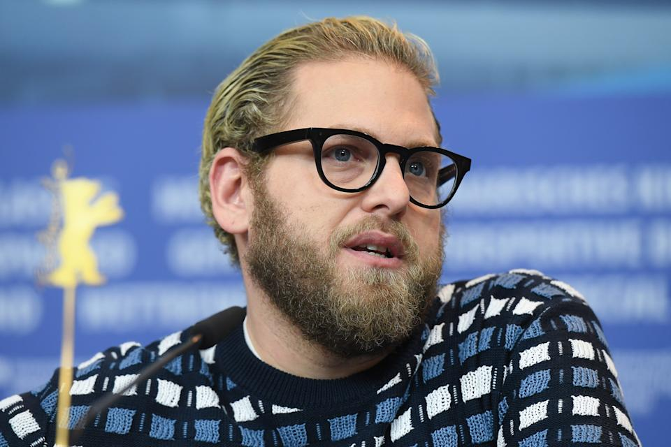 Jonah Hill asks followers not to make comments about his body. (Stephane Cardinale-Corbis/Corbis via Getty Images)