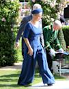 <p>Sophie, the Countess of Wessex, turned heads in 2019 when she opted for a jumpsuit, a recent addition to the style guide at Ascot. The Emilia Wickstead piece would still look great in 2021. (Adam Davy/PA Wire)</p>