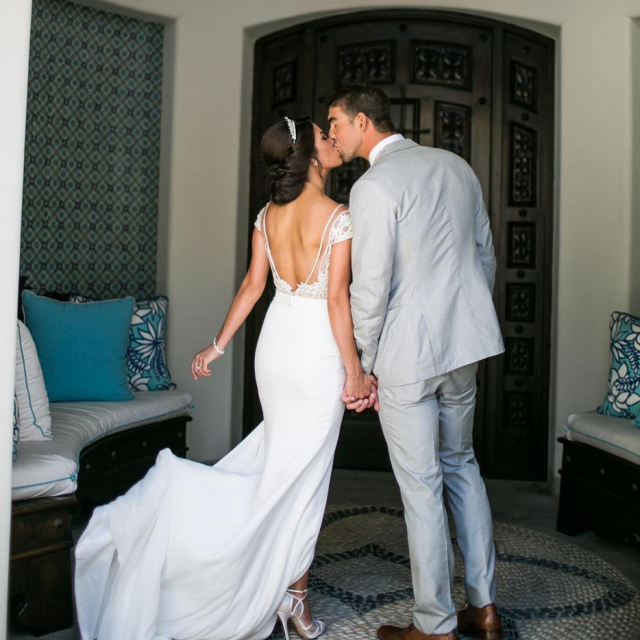 "<p>""One year ago I had the privilege of marrying my best friend!"" the Olympian wrote, sharing this kissy pic with his wife, Nicole. ""Love you forever and ever @mrs.nicolephelps"" (Photo: <a href=""https://www.instagram.com/p/Ba1oh2_HUMQ/?taken-by=m_phelps00"" rel=""nofollow noopener"" target=""_blank"" data-ylk=""slk:Michael Phelps via Instagram"" class=""link rapid-noclick-resp"">Michael Phelps via Instagram</a>) </p>"