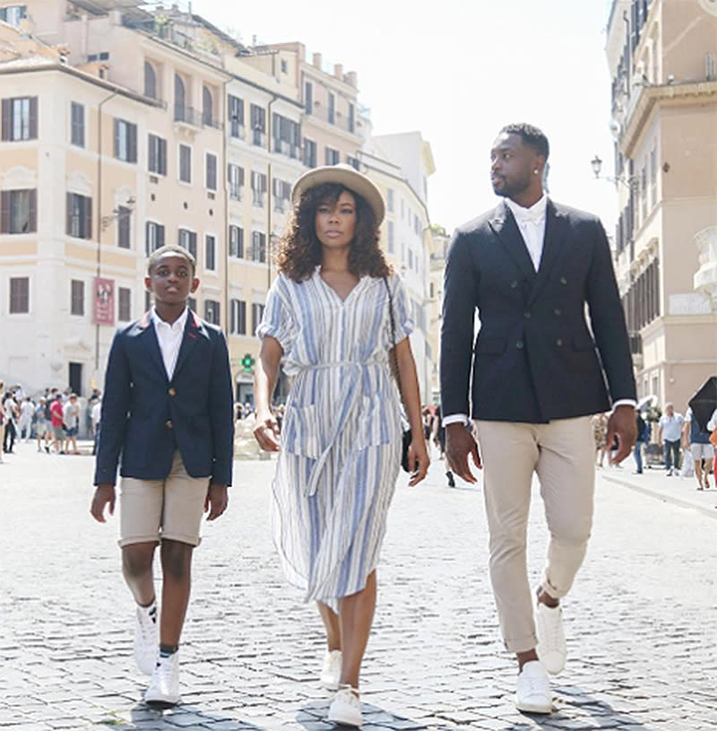 "<p>They also brought their photo shoot faces to the streets. (Photo: <a rel=""nofollow"" href=""https://www.instagram.com/p/BVc_66hgzMK/?taken-by=gabunion&hl=en"">Gabrielle Union via Instagram</a>) </p>"