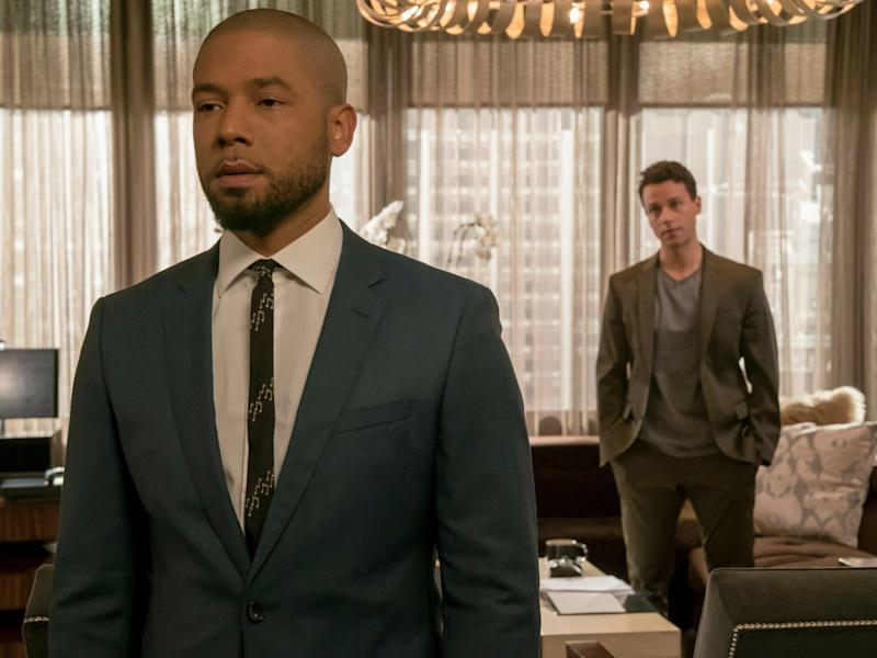 Jussie Smollett: Empire producer says it's 'too early' to talk about actor's future on show