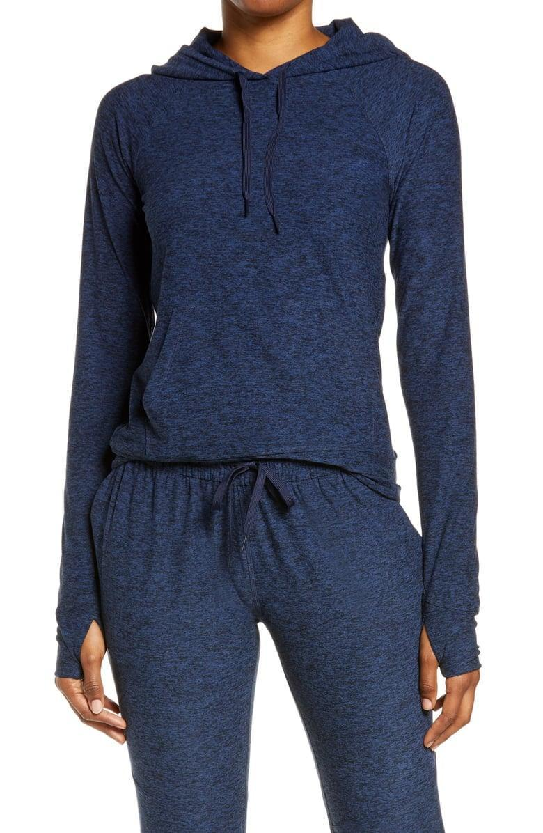 <p>Layer up in this cute <span>Outdoor Voices All Day Hoodie</span> ($88).</p>