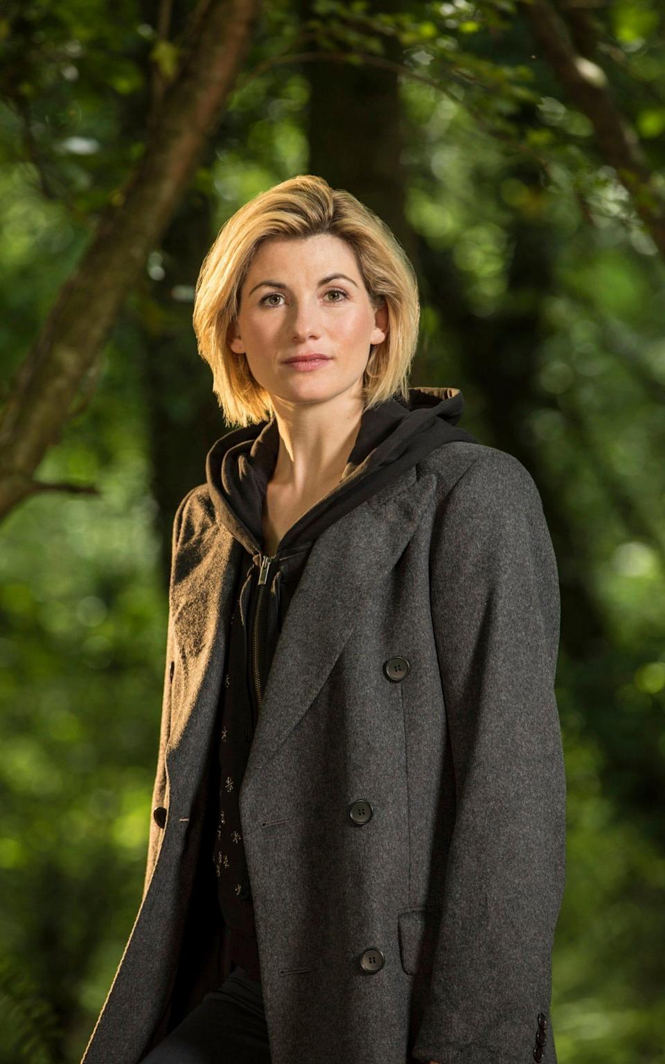 Jodie Whittaker's transition into becoming a female Doctor is easy because he's asexual and not defined by inherently manly traits (BBC)