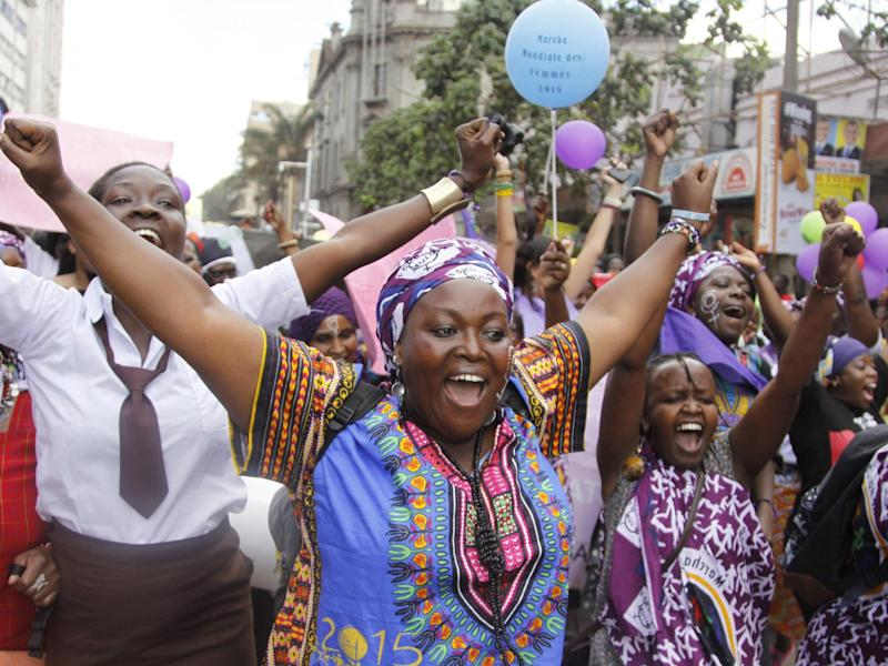 African women have campaigned for years against FGM, which the World Health Organization says is an 'extreme form of discrimination': AP/Khalil Senosi