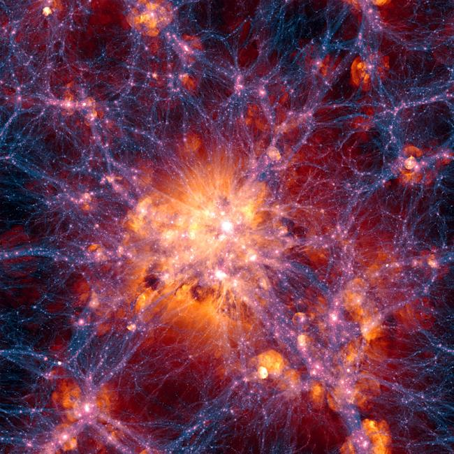 largest structure in universe
