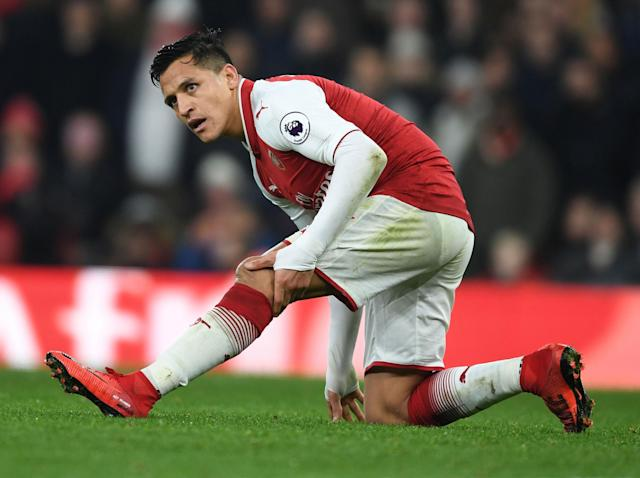 Out for the count: Manchester City are ready to walk away from the Alexis Sanchez deal – so could that let Spurs in?