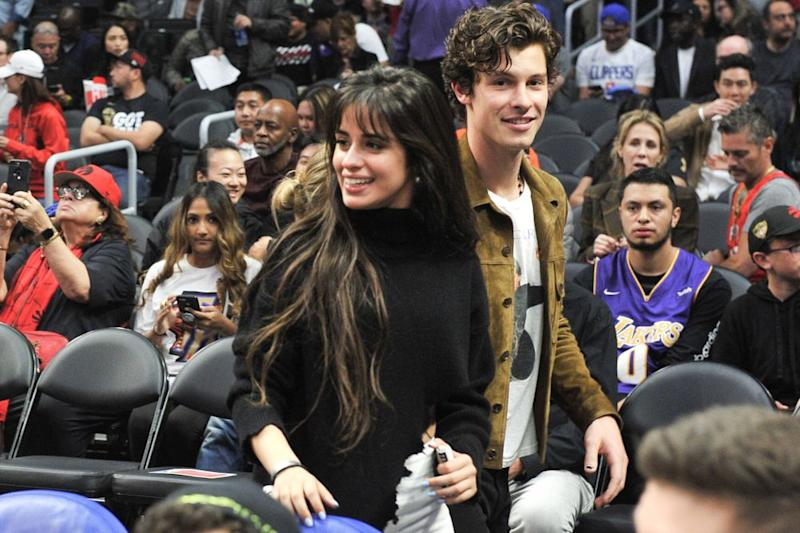Shawn Mendes and Camila Cabello | Allen Berezovsky/Getty Images