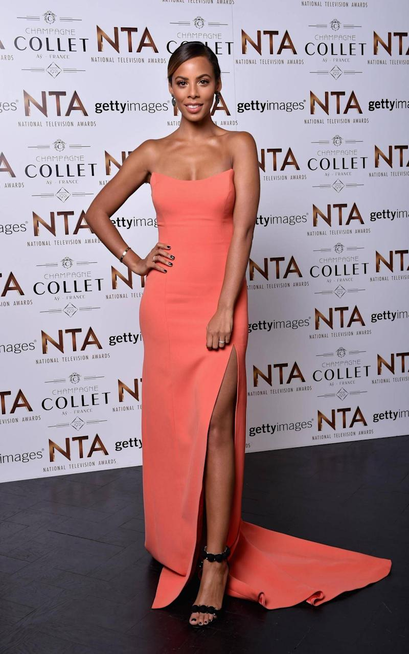 Rochelle Humes at the 21st National Television Awards in 2016 (Getty Images)