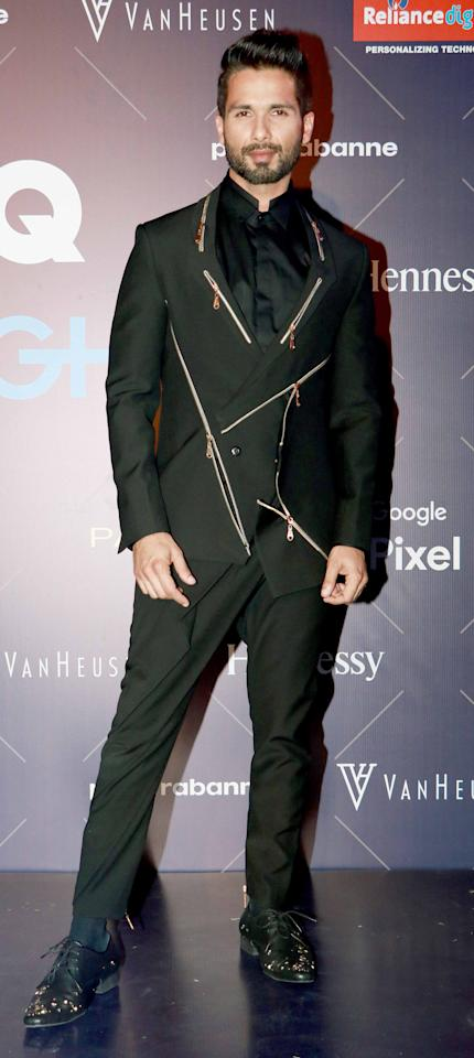 <p>Celebs at GQ Fashion Nights 2017 </p>