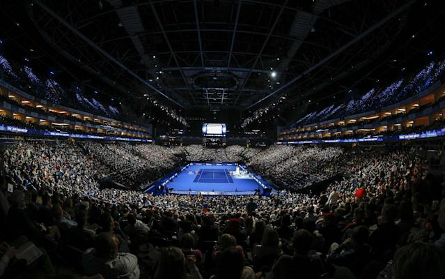 The ATP Finals has been hosted at the O2 for 12 years - Action Plus