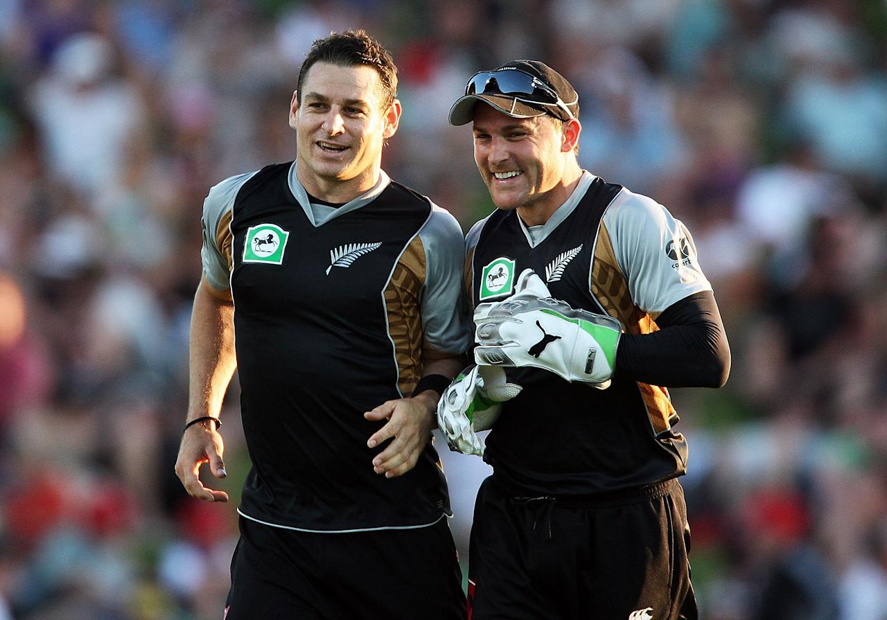 Nathan and Brendon McCullum