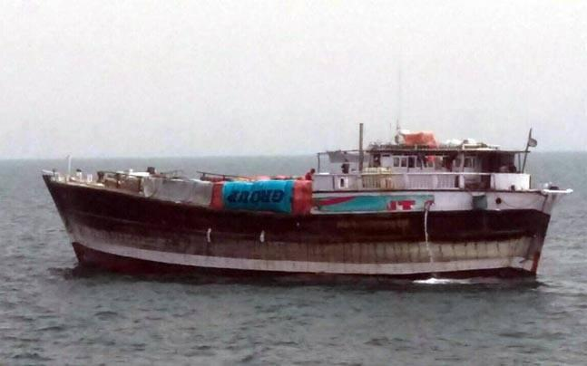 EU naval force says seized Indian cargo dhow now in vicinity of Hobyo, Somalia