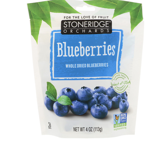 Whole dried blueberries. (PHOTO: iHerb Singapore)