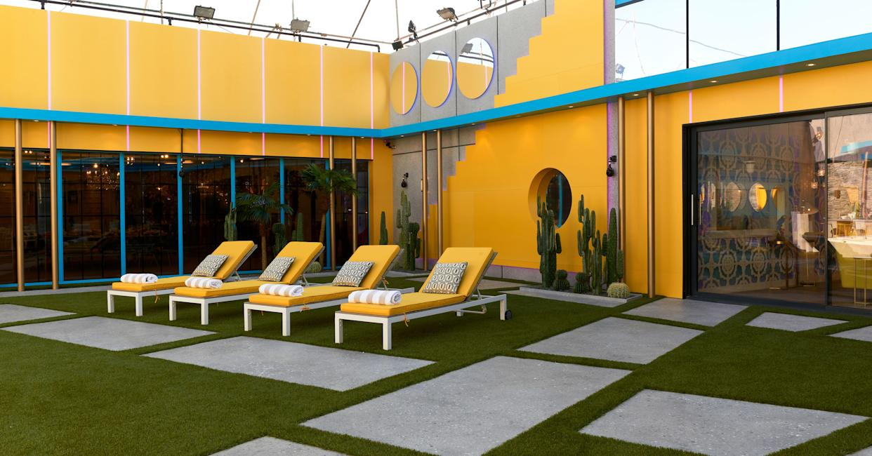 Take a look inside the Celebrity Big Brother house.