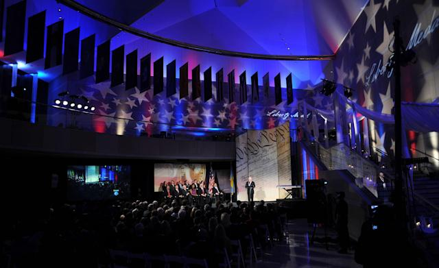 Philadelphia's National Constitution Center (pictured in 2011) will host the school's prom. (Photo: William Thomas Cain/Getty Images)
