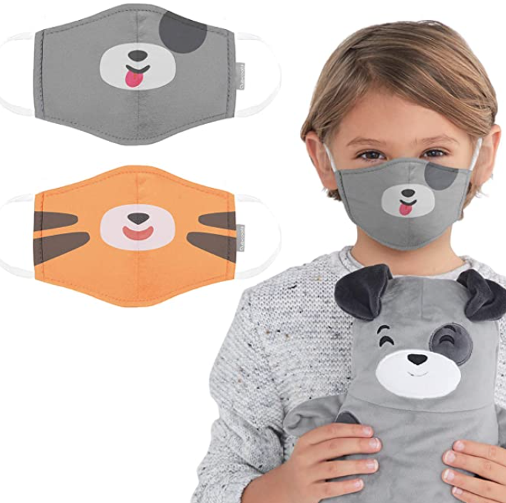 Animal masks can help kids get used to wearing face coverings. (Photo: Amazon)