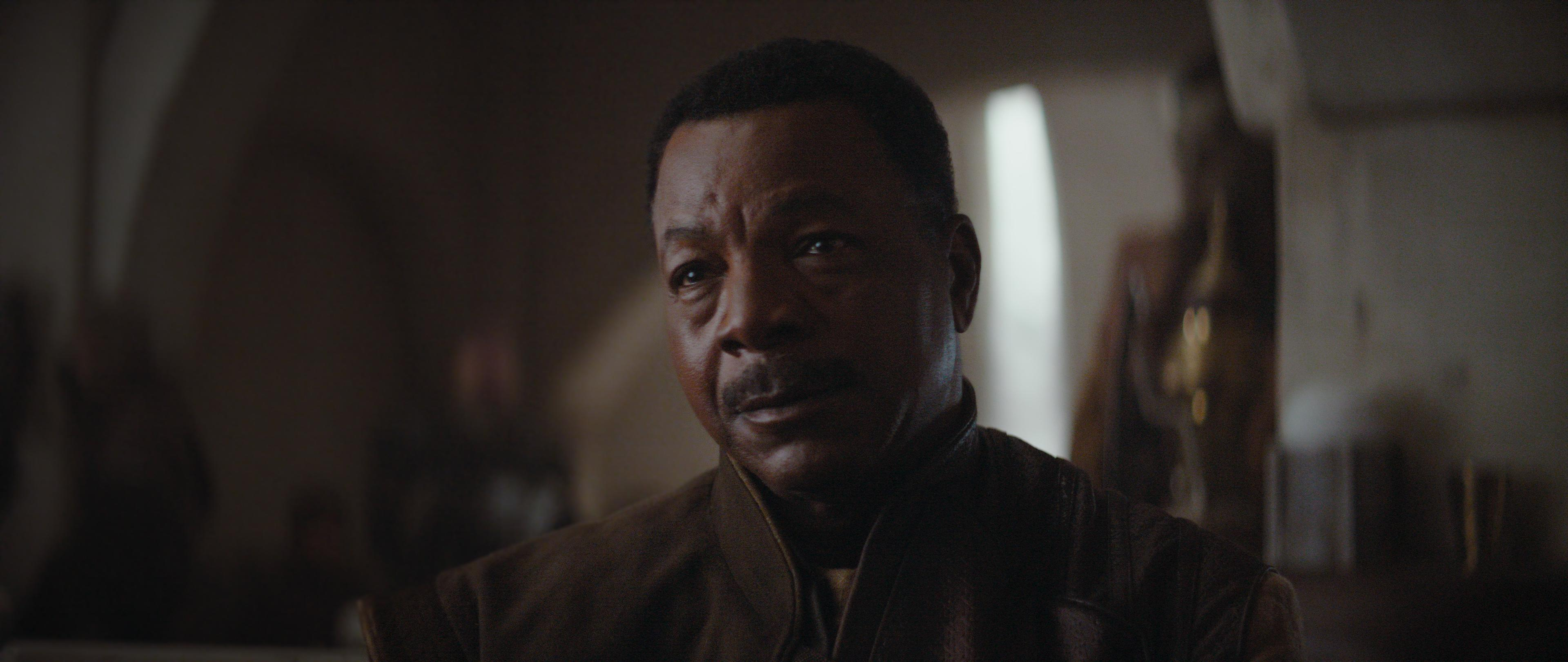 Carl Weathers plays Bounty Hunter Guild leader, Greef Carga in 'The Mandalorian' (Photo: Lucasfilm Ltd.)