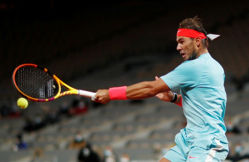 Nadal learned from Rome defeat by Schwartzman, says Moya