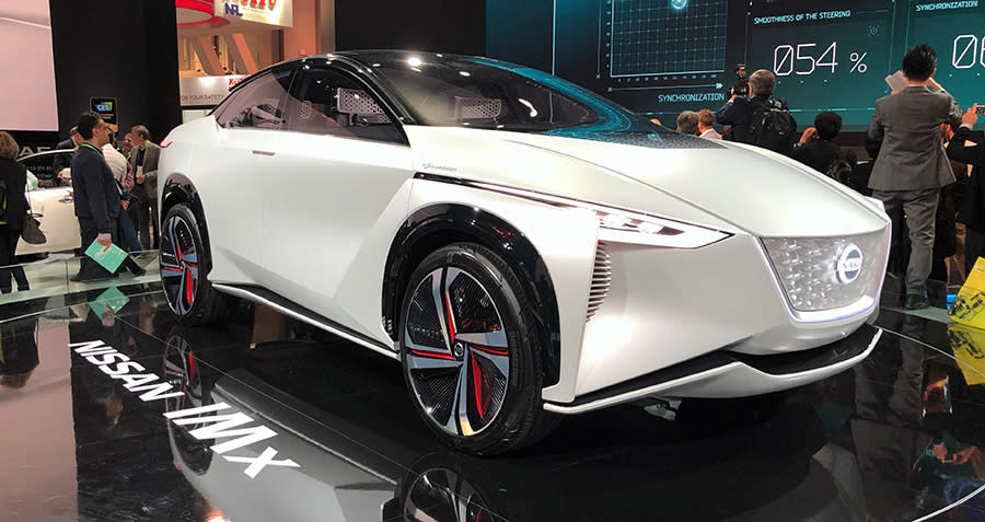 Sleek-looking concept cars filled the CES exhibit halls.