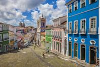 <p>A whirlwind of colors in Brazil highlight each home's unique architecture.</p>