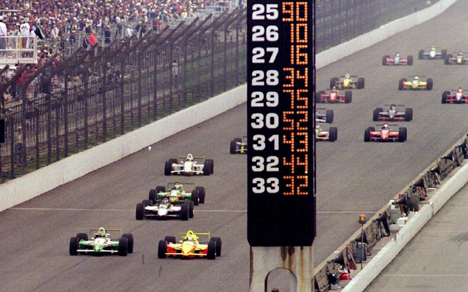start of1996 Indianapolis 500 race - Robin Jerstad/Reuters